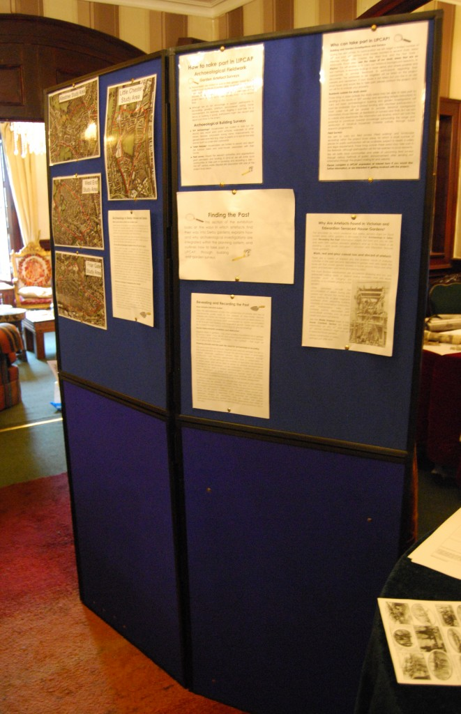 Archaeology & Project Information Display