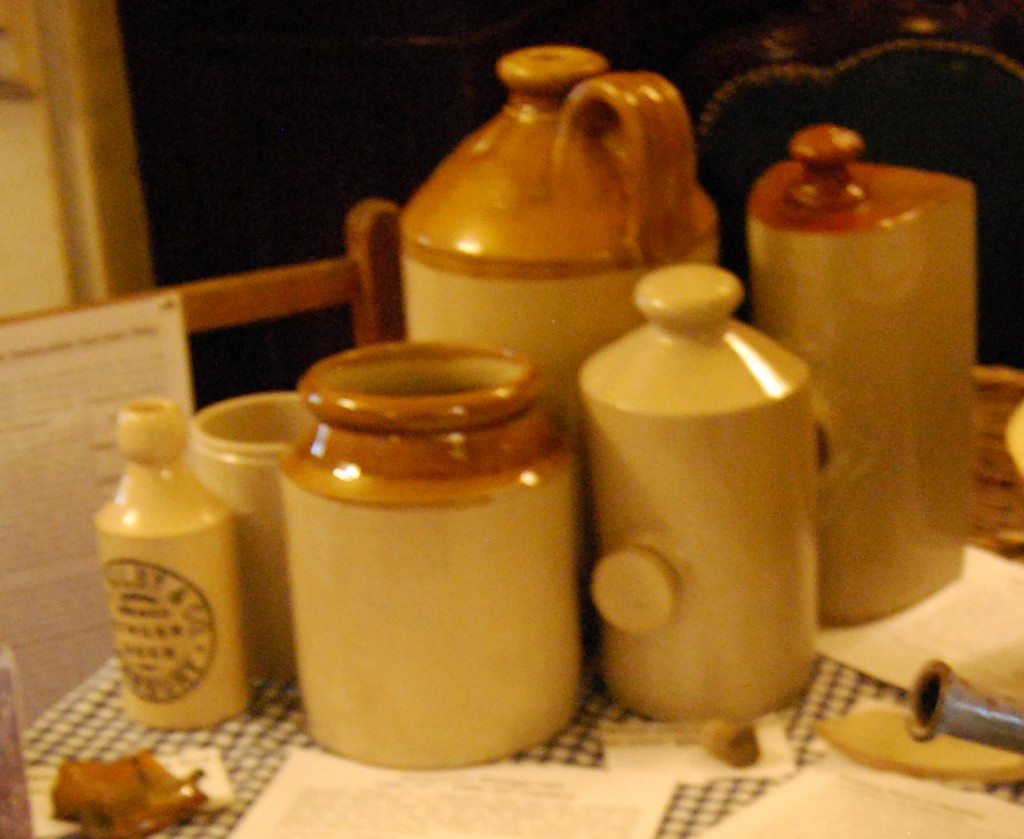 Stoneware Display