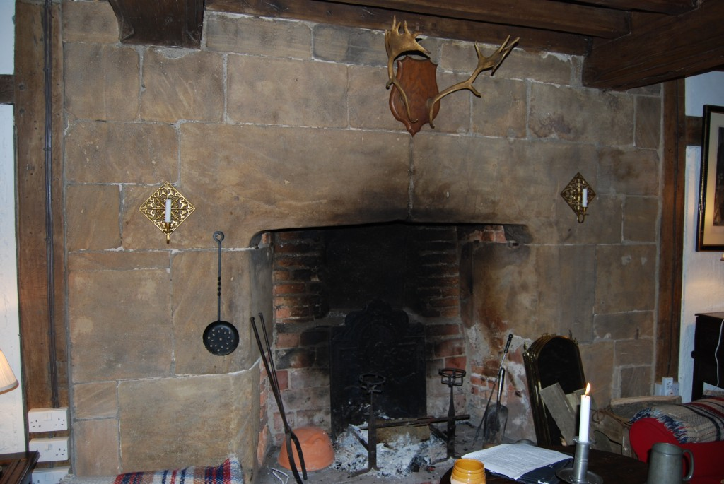 Hall Fireplace